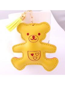 WA2527 - Gantungan Kunci Beruang ( Kuning ) #C78