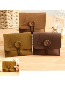 WA2540B - Dompet Fashion Paris ( Coklat Muda )