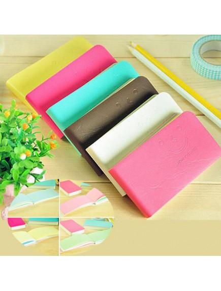 WA2551 - Notepad Memo Smiley Face (Pink Tua)