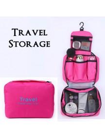 WA2673B - Storage Multifungsi Travel Portable Bag (Pink)