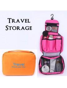 WA2673C - Storage Multifungsi Travel Portable Bag (Orange)