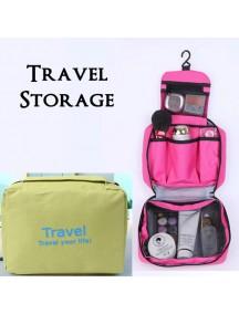 WA2673D - Storage Multifungsi Travel Portable Bag (Hijau)