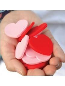 WA1388 - Memo/Pembatas Buku Hati (Pink)