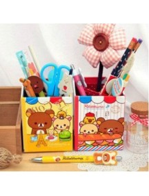 WA1883 - Storage Box Tempat Holder Pen Rilakuma (Random Color)
