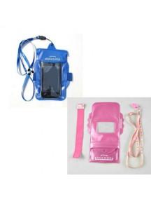 WA1898 - Sarung Gantungan Hp Anti Air & Anti Hujan Waterproof (Pink)