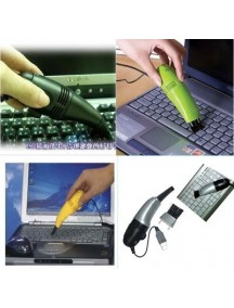 WA2023C - USB Vacuum & Brush Pembersih Debu Serbaguna Computer / Notebook (PUTIH)