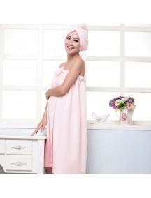 WA2147 - Set Handuk Badan (Baby Pink)