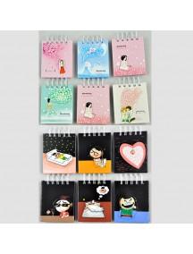 WA2783 - Note Memo Pad Korea (Random)