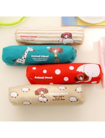 WA2861W - Tempat Pensil Animal Island Fashion