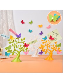 WA2931W - Ornament Dekorasi Tempat Foto Dan message tile Model Pohon