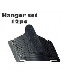 GH1188 - Gantungan Baju / Hanger Baju Plastik Set 12 Pcs