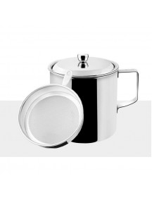 WA2957 - Tempat Minyak dan Saringan Stainless Steel Oil Pot