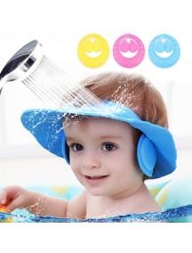 WA3009W - Topi Keramas Bayi Balita Baby Cap Shampoo