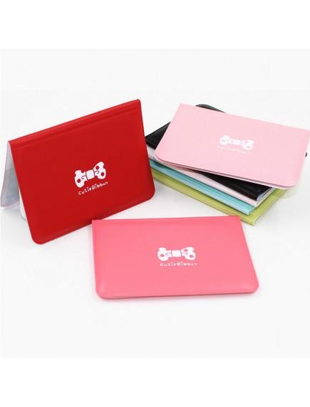 WA3032W - Dompet Kartu Ribbon Cute 12 Kartu