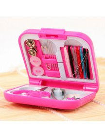 WA3040 - Travel Portable Sewing Kit Alat Jahit Mini Set (Pink)
